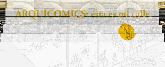 Image: Arquicómics workshop on the relation between architecture and comics.