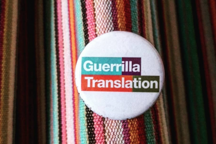 Industry translation is a capitalist racket. Guerrilla Translation is the ethical choice.